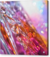 Tenderness Of The Pink Acrylic Print
