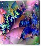 Tending Toward Flowers Acrylic Print