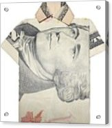 Tendollar T Shirt Acrylic Print by Kevin  Sherf