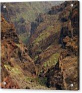 Tenerife Coastline Acrylic Print