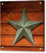 Tenkiller Lone Star Acrylic Print