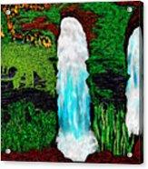 Tenn. State Falls Se Acrylic Print