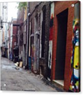 Tennessee Alley Acrylic Print by Joyce Kimble Smith