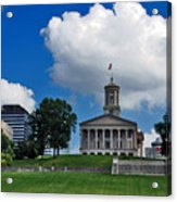 Tennessee State Capitol Nashville Acrylic Print