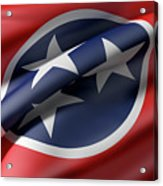 Tennessee State Flag Acrylic Print