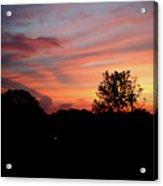 Tennessee Sunset 305 Acrylic Print