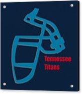 Tennessee Titans Retro Acrylic Print
