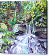 Tennessee Waterfall Acrylic Print