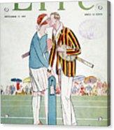 Tennis Court Romance, 1925 Acrylic Print