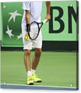 Tennis Player Acrylic Print