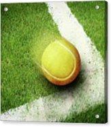 Tennis Point Acrylic Print