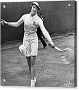 Tennis Star Katherine Stammers Acrylic Print