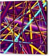 Tension Strings Acrylic Print