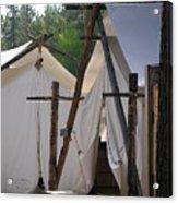 Tent Living Montana Acrylic Print