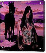 Tequilla Sunrise Acrylic Print