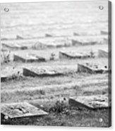 Terezin Cemetery Graves - Czechia Acrylic Print