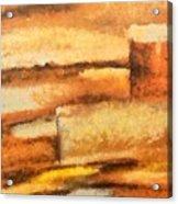 Terra Rossa Acrylic Print