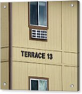 Terrace 13 Ithaca College New York Signage Acrylic Print