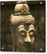 Terracota Statue Head Acrylic Print