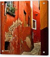 Terracotta Alley Acrylic Print