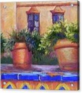 Terracotta And Tiles Acrylic Print