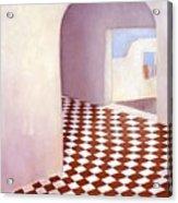 Terracotta Tile Acrylic Print