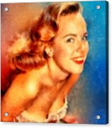 Terry Moore, Vintage Hollywood Actress Acrylic Print