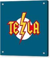 Tesla Bolt Acrylic Print