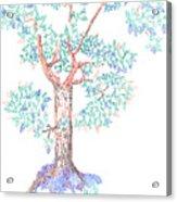 Tesselated Tree Acrylic Print