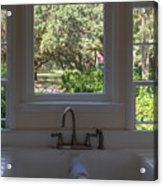 Window Over The Sink Acrylic Print