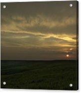 Teterville Sunset Acrylic Print