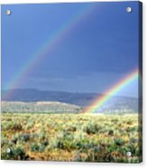 Teton Rainbow Acrylic Print
