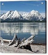 Teton Range Reflections Acrylic Print
