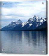 Teton Reflection Acrylic Print
