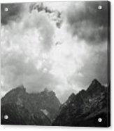 Teton Sky Acrylic Print
