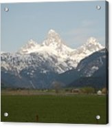 Teton Valley Acrylic Print