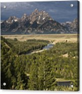 Teton Valley Snake River Acrylic Print