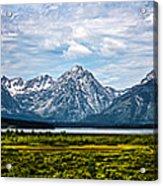 Tetons - Panorama Acrylic Print