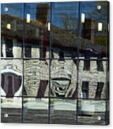 Tett Centre Reflection Acrylic Print