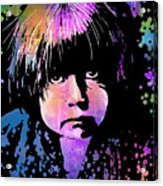 Tewa Child Acrylic Print