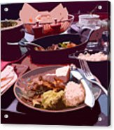 Tex-mex Good Eats Acrylic Print