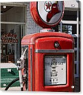 Texaco Fire-chief #1 Acrylic Print
