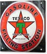 Texaco Sign Acrylic Print