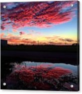 Texan Sky Acrylic Print