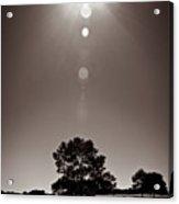 Texan Sun Acrylic Print