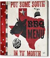 Texas Barbecue 4 Acrylic Print
