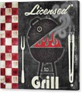 Texas Barbecue I Acrylic Print