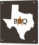 Texas Bbq Acrylic Print