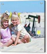 Texas Best Friends Acrylic Print