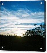 Texas Big Blue Sky Acrylic Print